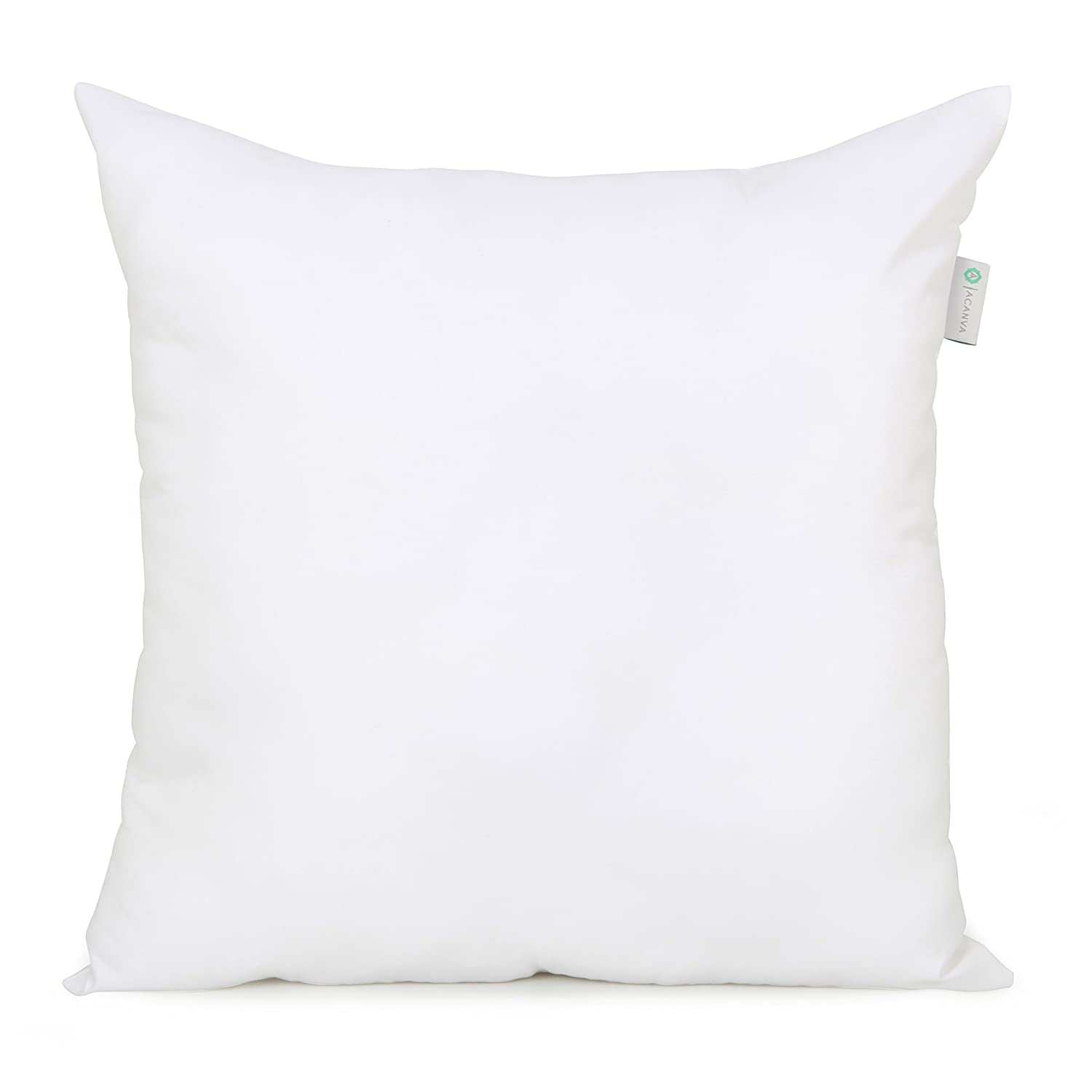 amazon form alternative square down x sham kitchen acanva dp w l pillow com insert cushion home