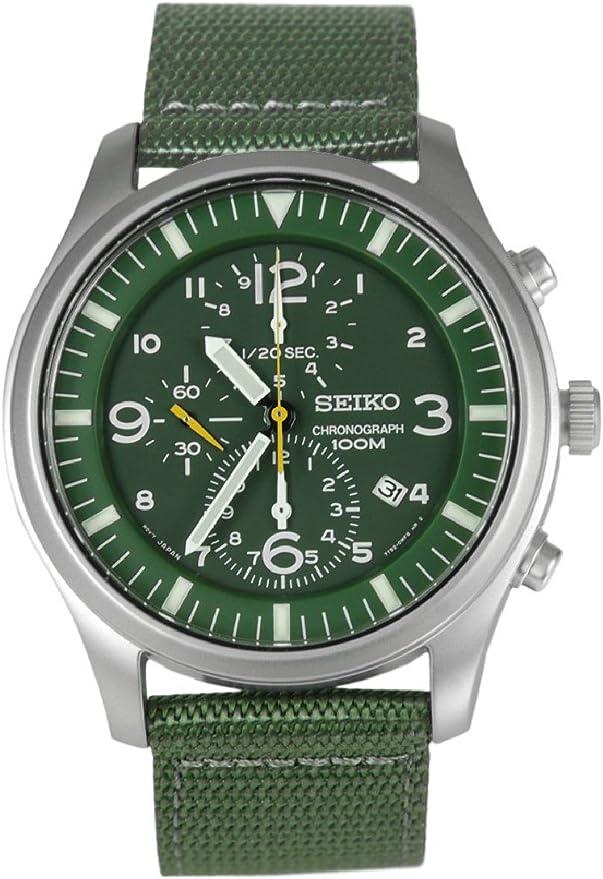 セイコー SEIKO クロノ メンズ 腕時計 SNDA27P1 グリーン [並行輸入品]