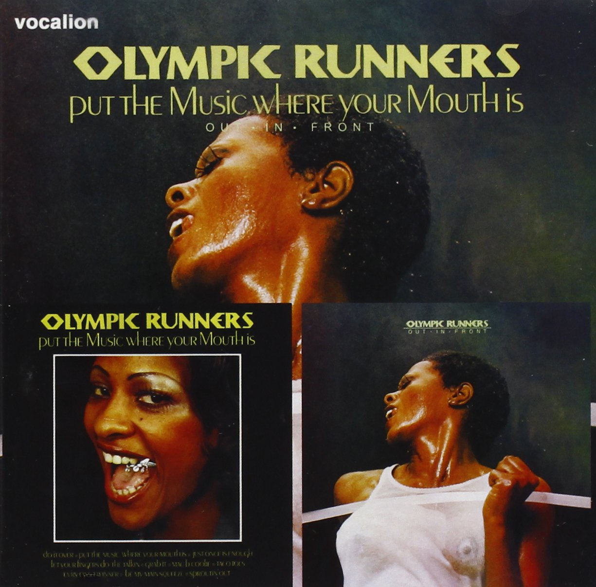 Put the Music Where Your Mouth Is Out in Front by Dutton Vocalion UK