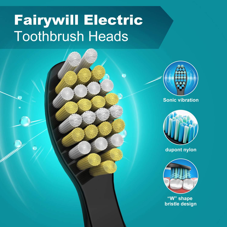 Amazon.com: Fairywill - Cabezales de cepillo duro para ...