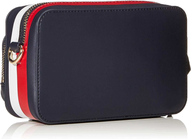 Tommy Hilfiger TH Corporate Camera Bag, Borse Donna, 7.5x0.1x17.5 centimeters (W x H x L) Multicolore (Corporate Mix)