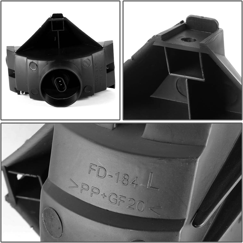 DNA motoring FL-ZTL-115-SM Front Bumper Fog Light Smoked Pack of 1