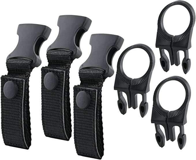 Details about  /Water BottLe Holder Clip Outdoor Tools Climbing Carabiner Clasp Belt Bag X3F2
