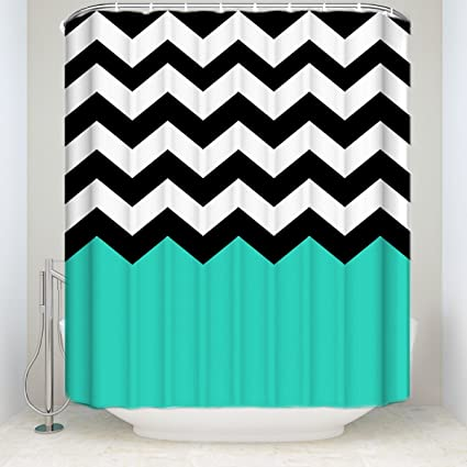 Image Unavailable Not Available For Color Chevron Shower Curtains