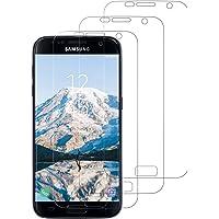 Snnisttek [3 Stück Panzerglas Samsung S7 Galaxy-Samsung S7 Panzerglasfolie-9H Härte, Ultra Kristallklar-Schutz vor Kratzen, Öl, Bläschen Panzerglas S7