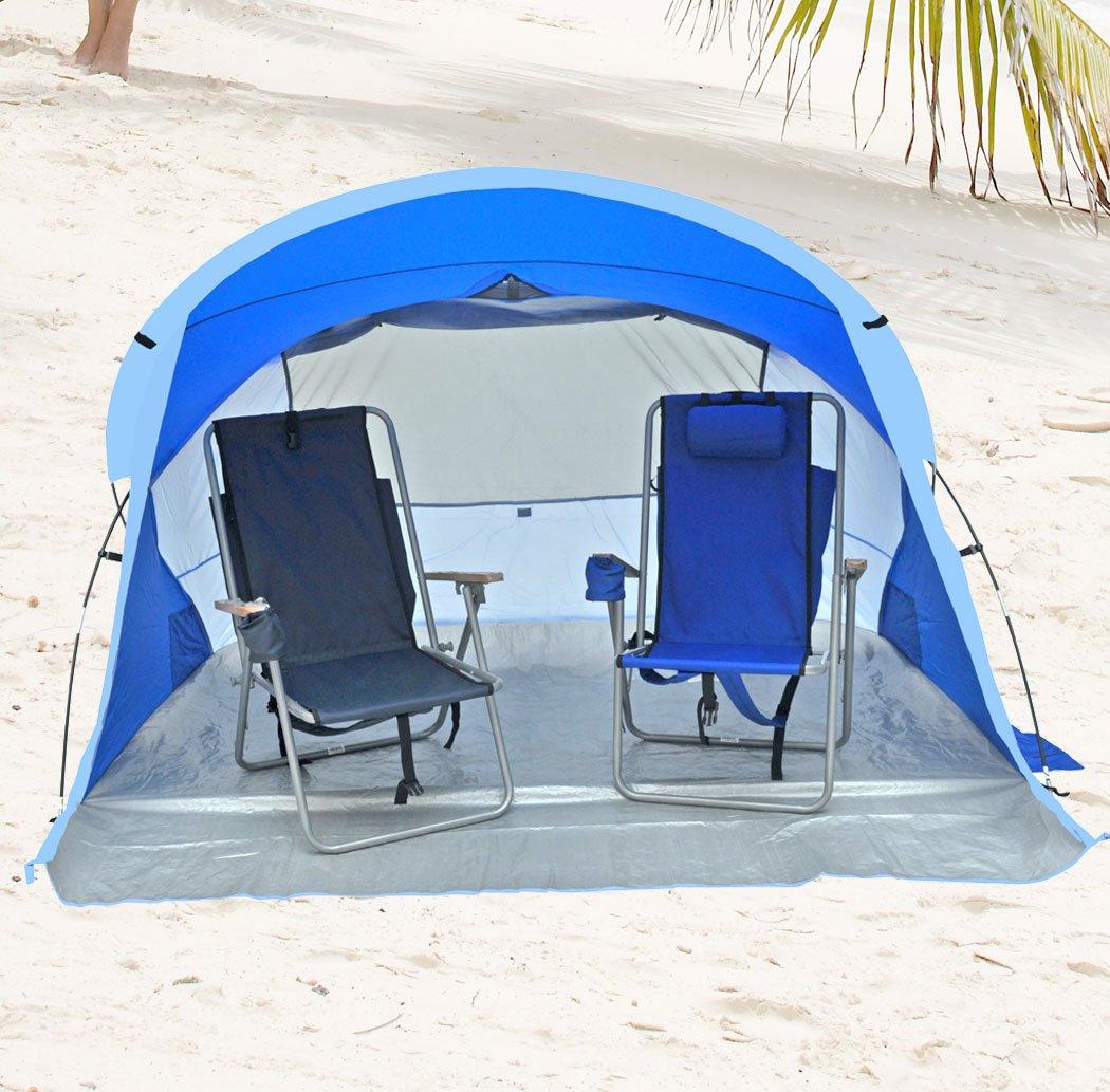 Deluxe Lightweight Beach Cabana / Shelter UPF 55+  sc 1 st  Amazon.com & Amazon.com: Shadezilla