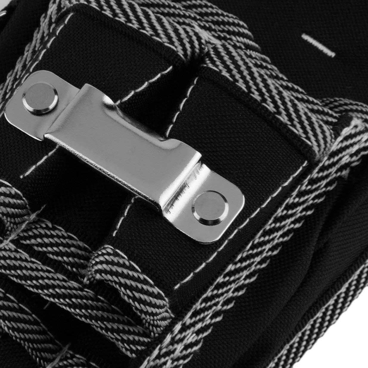 Sairis Multifuncional 9 en 1 Electricista Cintura Bolsillo Herramienta de Bolsillo Cintur/ón Bolsa Bolsa Destornillador Soporte de Utilidad Bolsillos de Cintura Bolsas