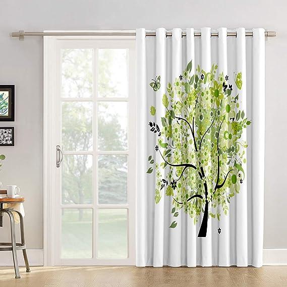 Cortinas de cocina con diseño de bandera de Reino Unido para salón, dormitorio, estilo rústico, para puertas correderas de cristal o patios: Amazon.es: Hogar