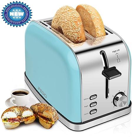 Amazon.com: 2 tostadoras de rebanadas de pan de acero ...