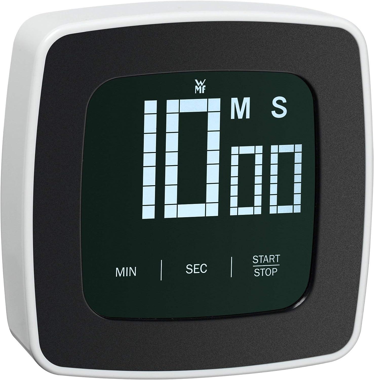 WMF Scala Reloj avisador Digital, De plástico, Blanco