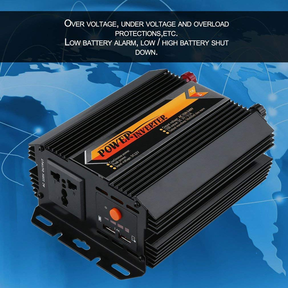 Exiao T8093 800W 1000W Modified Sine Wave Solar Power Inverter High Efficiency