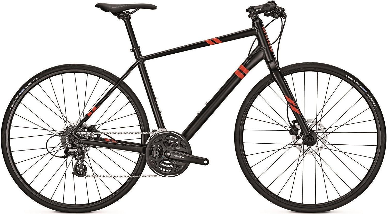 Focus arriba Altus Fitness Bike 2017, negro: Amazon.es: Deportes y ...