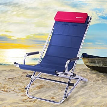 OnwaySports Zero Gravity Aluminum Frame Rocking Chair with Headrest Folding Portable Compact Lightweight for Outdoor C&ing & Amazon.com: OnwaySports Zero Gravity Aluminum Frame Rocking Chair ...