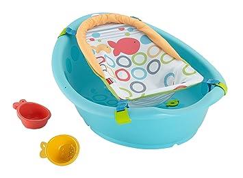 653540498 Fisher-Price - Bañera Crece Conmigo (CHR13): Amazon.es: Juguetes y juegos