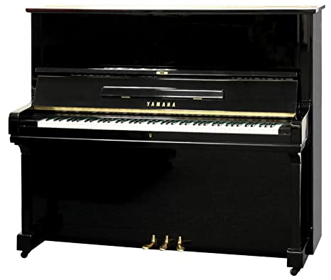 Yamaha U3 - Pianoforte verticale lucido, colore: nero: Amazon.it ...