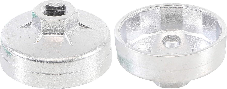 BGS filtro olio tappo in alluminio-ghisa 75 mm x 15 biesagonale 1045