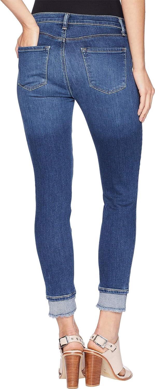 J Brand Womens 835 Mid-Rise Crop Skinny in Hewes