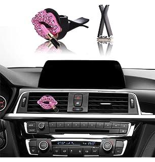 Car Bling Interior Accessories Mini Factory Air Vent Rhinestone Diamond Decoration
