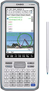 Casio Touchscreen with Stylus Graphing Calculator, 4.8 (fx-CG500)