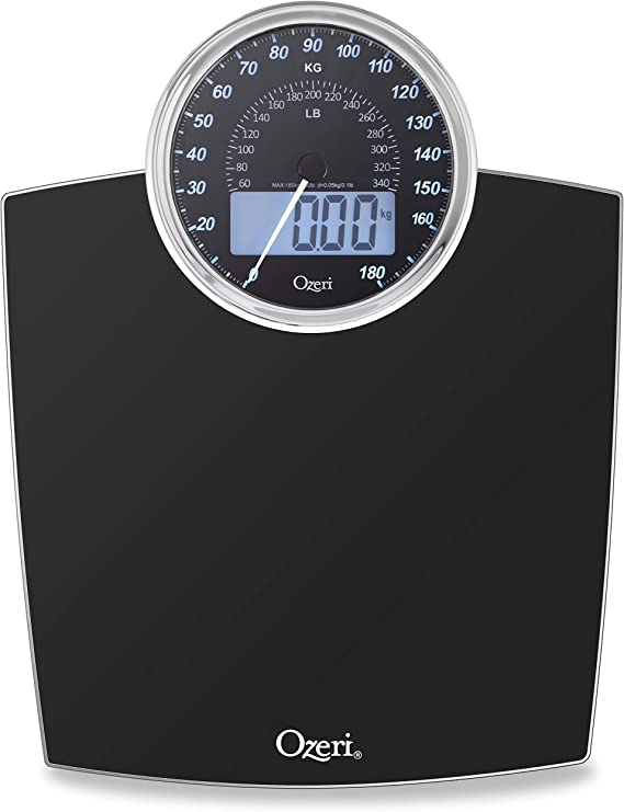 Mechanical Bathroom Weighing Scales Pounds Measurement Kilogram Stones Magnified