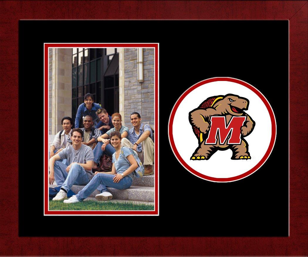 Vertical Campus Images NCAA Maryland Terrapins University Spirit Photo Frame