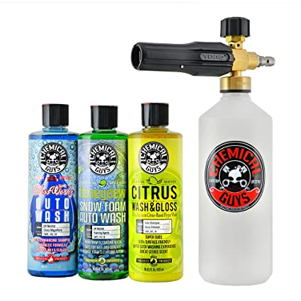 Foam Cannon Soap >> Amazon Com Chemical Guys Hol145 Torq Foam Cannon Snow Foamer 3