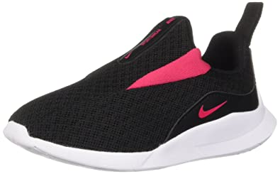 de5099bbdd Nike Girls' Viale (TD) Running Shoe Black/Rush Pink-White 2C