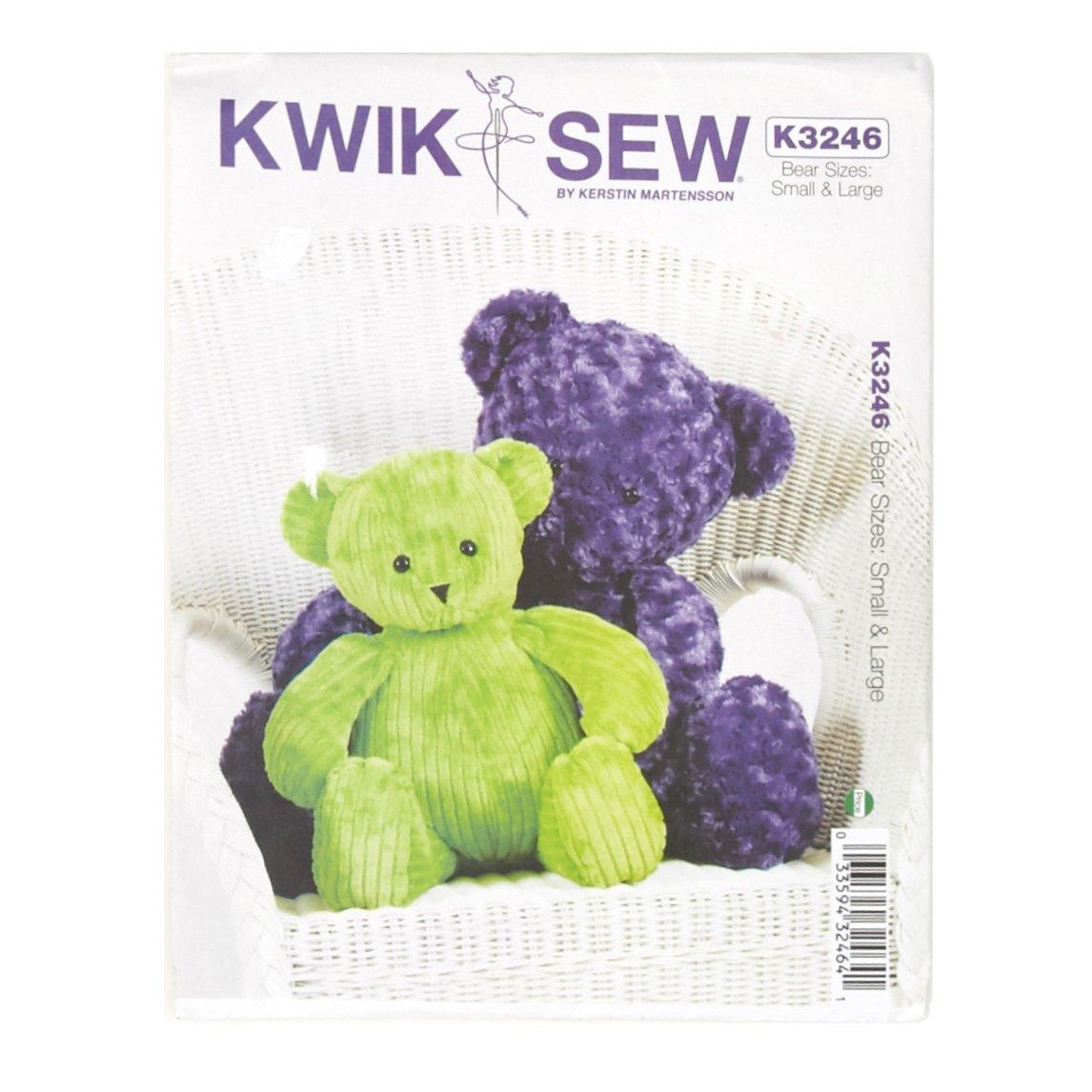 Amazon kwik sew teddy bears pattern jeuxipadfo Images