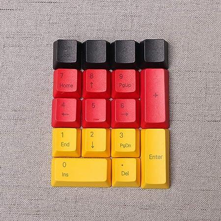 Keycaps PBT Teclas duraderas y Coloridas de área Digital ...