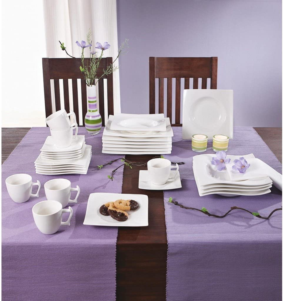 Maxwell & Williams RP00930motion coffee set–12-piece crockery set 30pieces in gift box, porcelain