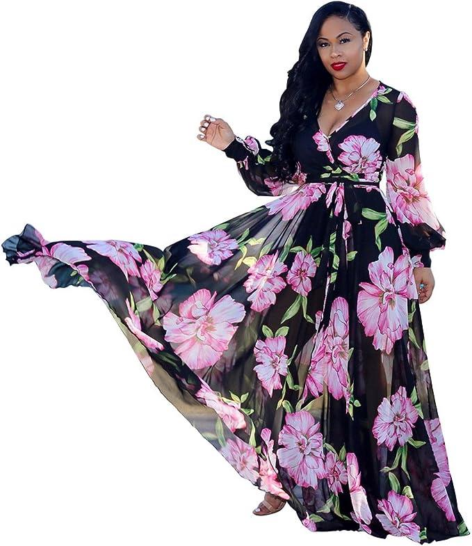 Plus Size Womens Maxi Dress