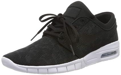 quality design 633ba ea16a Nike Men  39 s Stefan Janoski Max Black WhiteSneakers - 4 ...