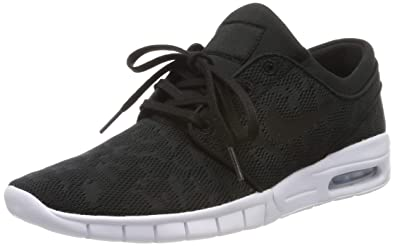 huge selection of 5644a e5215 Nike Stefan Janoski Max, Chaussures de Skateboard Homme, Noir Black/White,  40.5