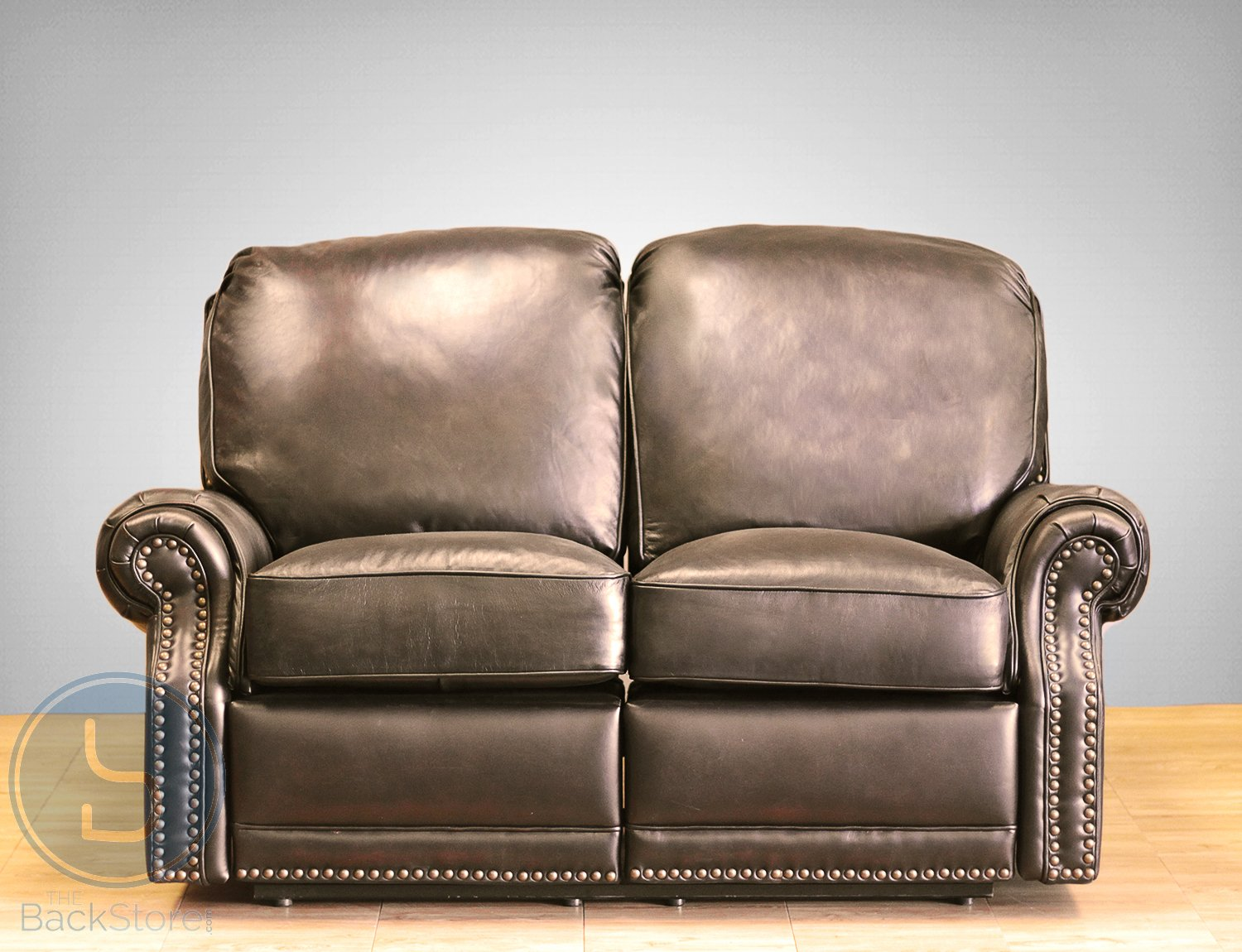 Amazon.com BarcaLounger Premier II Leather Reclining Loveseat - Stetson Coffee (LoveSeat Power Recline) Kitchen u0026 Dining & Amazon.com: BarcaLounger Premier II Leather Reclining Loveseat ... islam-shia.org