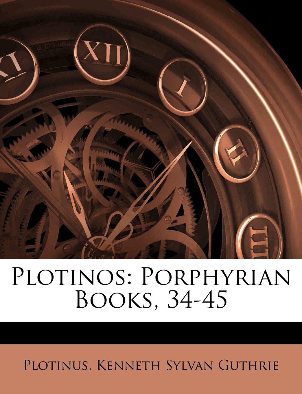 Download Plotinos: Porphyrian Books, 34-45 pdf epub