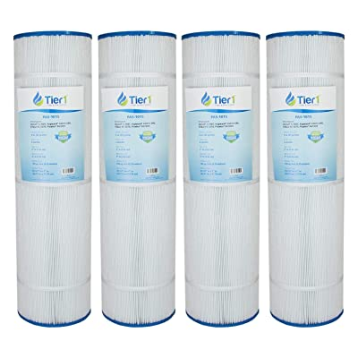 Tier1 Hayward C4000 Filter, Filbur FC-1270, Pleatco PA100N, Unicel C-7487 Comparable Replacement Pool Filter Cartridge (4-Pack): Kitchen & Dining