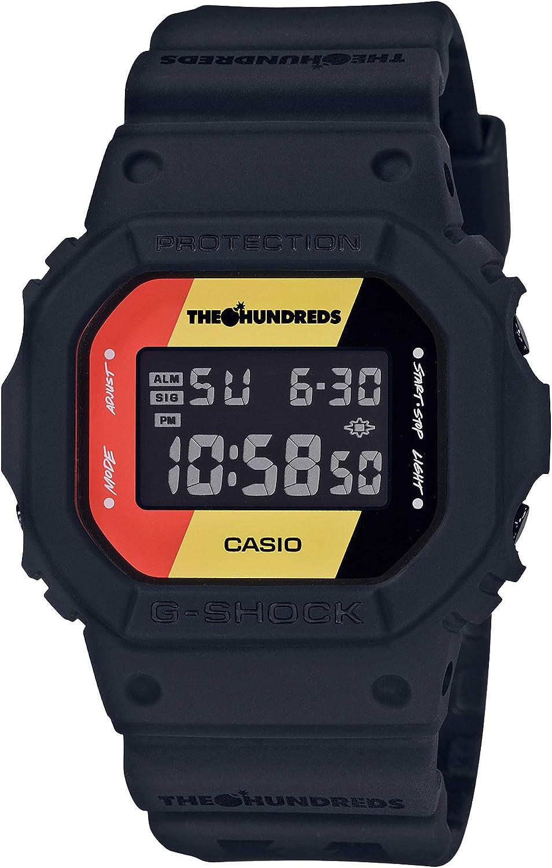 Casio G-SHOCK DW-5600HDR-1JR - Reloj de pulsera resistente a los golpes (productos originales de Japón)