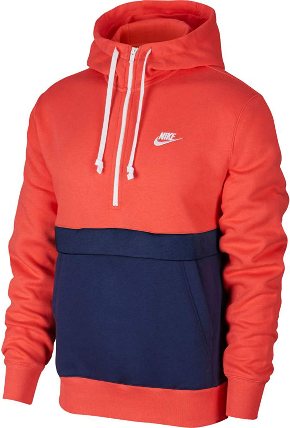 Nike Herren Club Half Zip Fleece Hoody