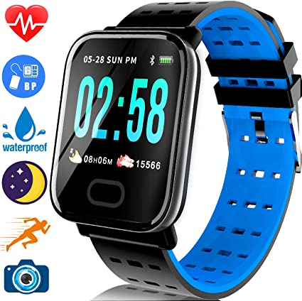 Amazon.com: TURNMEON Smart Watch for Android/iOS - 2019 ...