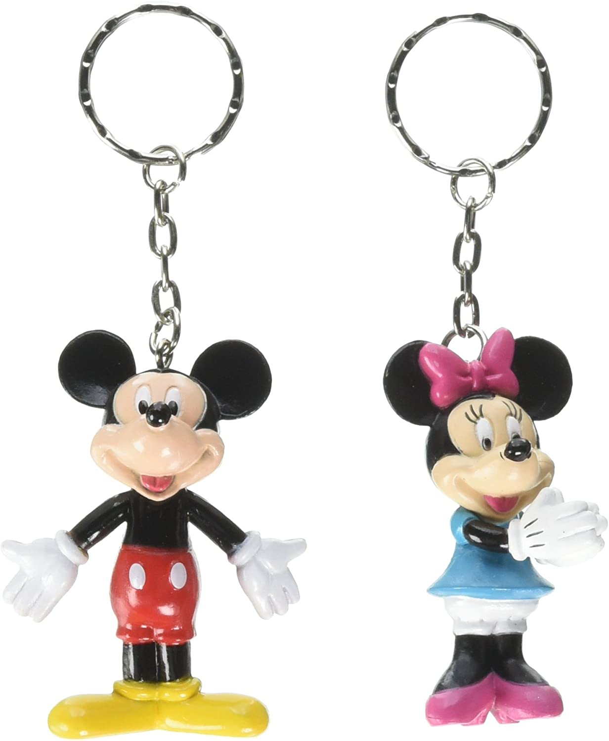 Bulk Buys Disney Mickey and Minnie Mouse - Llavero 3D (2 unidades ...