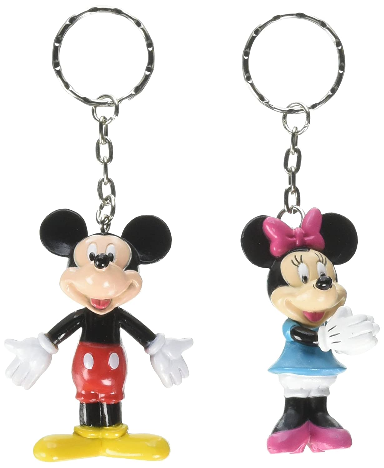 Bulk Buys Disney Mickey and Minnie Mouse - Llavero 3D (2 ...