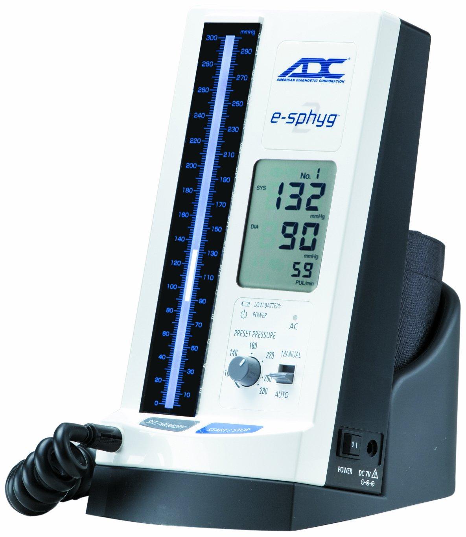 ADC 9002DK-MCC 9002 E-Sphyg II - Tensiómetro automático con puños y soporte de sobremesa: Amazon.es: Industria, empresas y ciencia