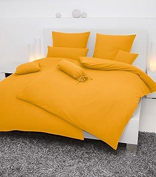 Janine Uni Mako Soft Seersucker Bettwäsche 135x200 155x200 155x220 In 22 Farben