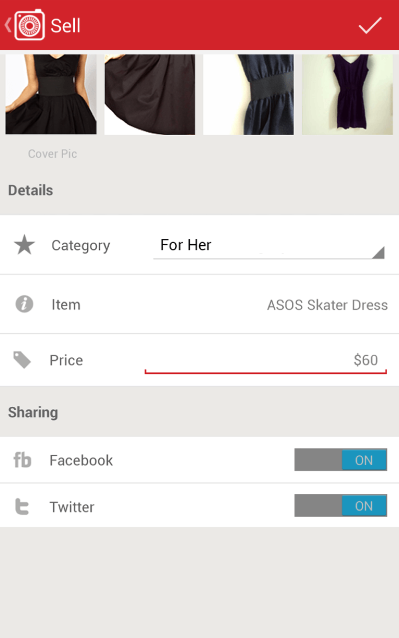 Carousell Snap to List, Chat to Buy