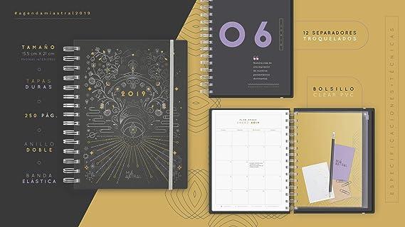 Agenda Mia Astral 2019: Amazon.es: Oficina y papelería