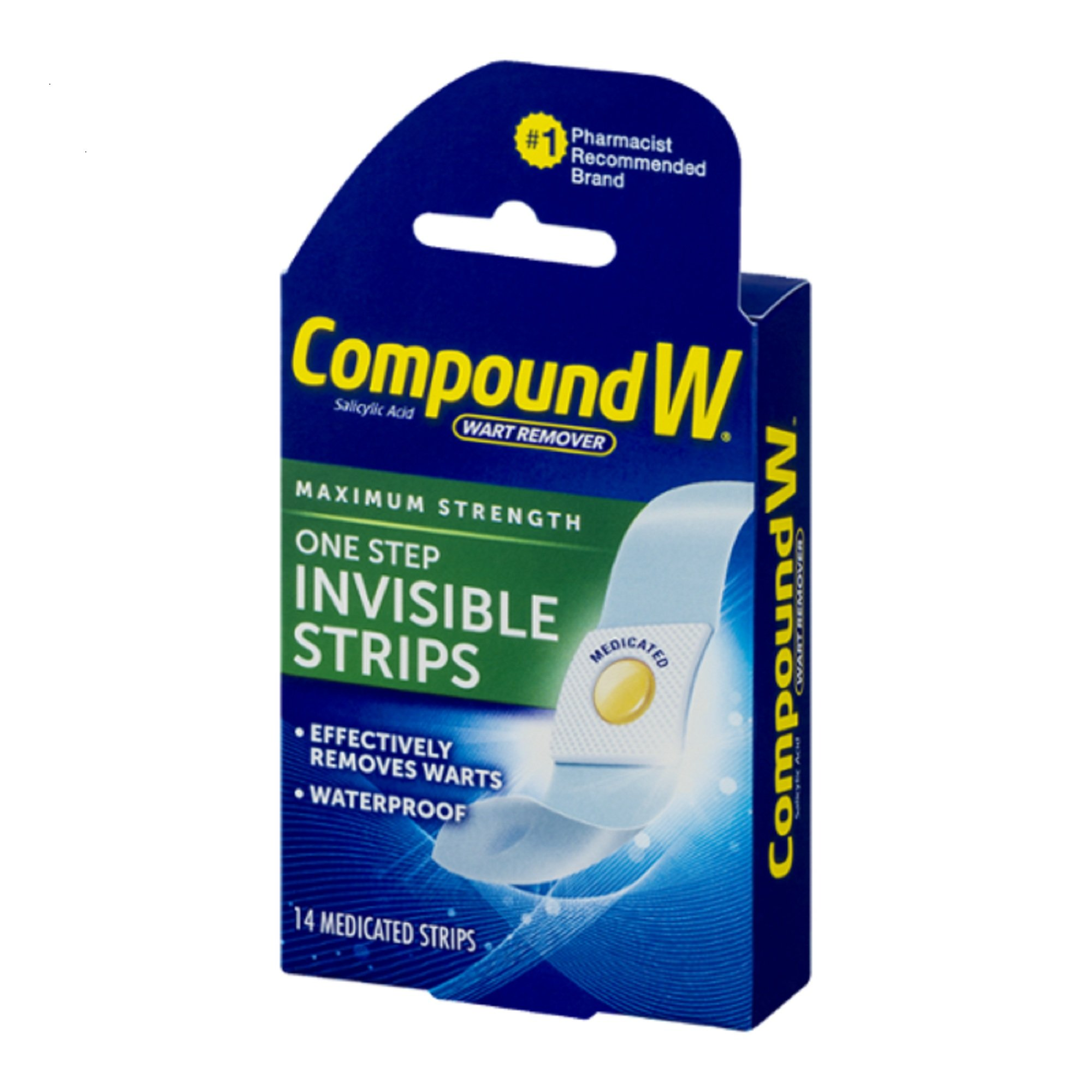 Compound W One Step Invisible Strips 14 Each (Pack of 3) by Compound W