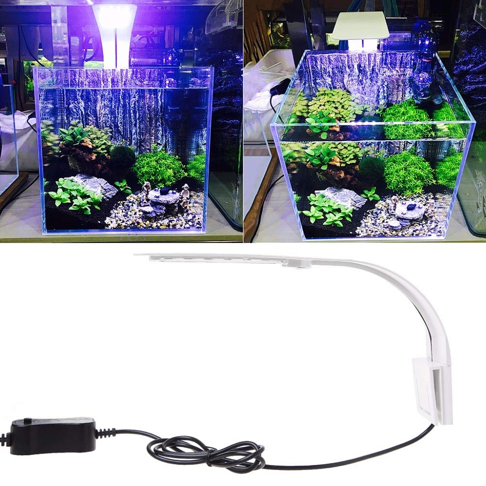 Amazon Com Sala Deco 10w Led Aquarium Light Waterproof Clip On