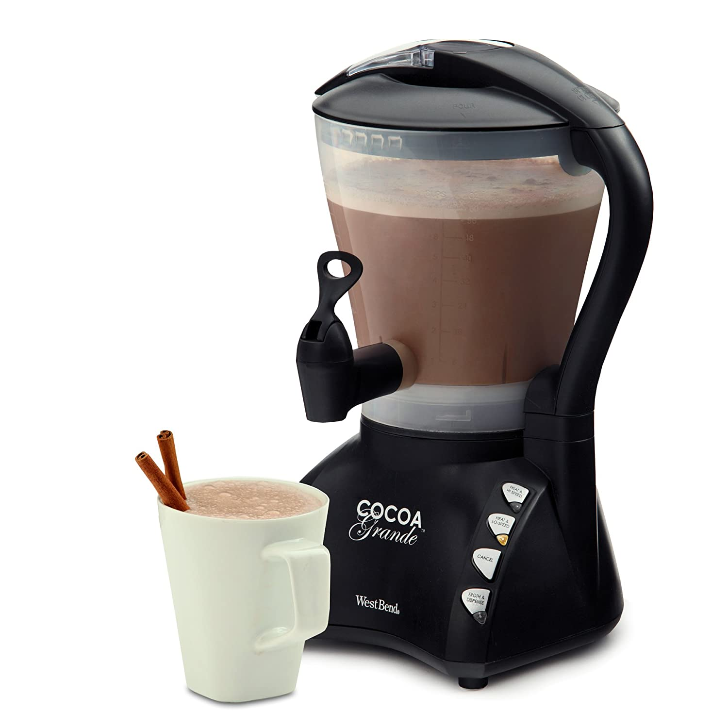 Amazon.com: West Bend CL400BG Cocoa Grande Drink Maker with ...