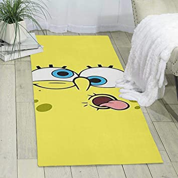Amazon.com: LCX0D Carpet- Trendy Spongebob Face Design ...