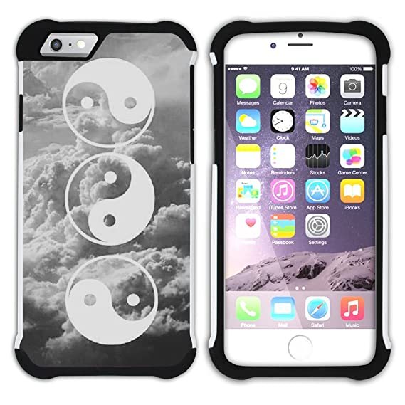 Amazon Graphic4you Yin And Yang Chinese Symbol Armor Protector